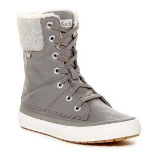 Keds Juliet faux fur lined boot size 9
